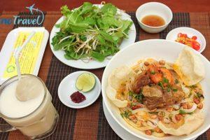 Review mỳ quảng Bà Mua Đà Nẵng