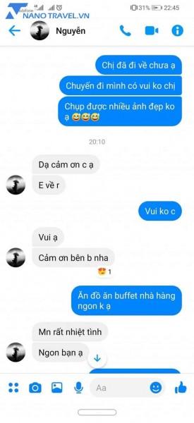 phản hồi khách hàng về Vé Bà Nà Hill Đà Nẵng + Buffet trưa - 7