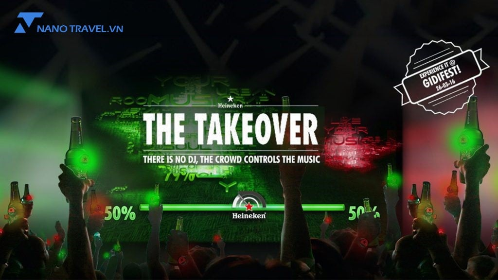 Heineken the takeover