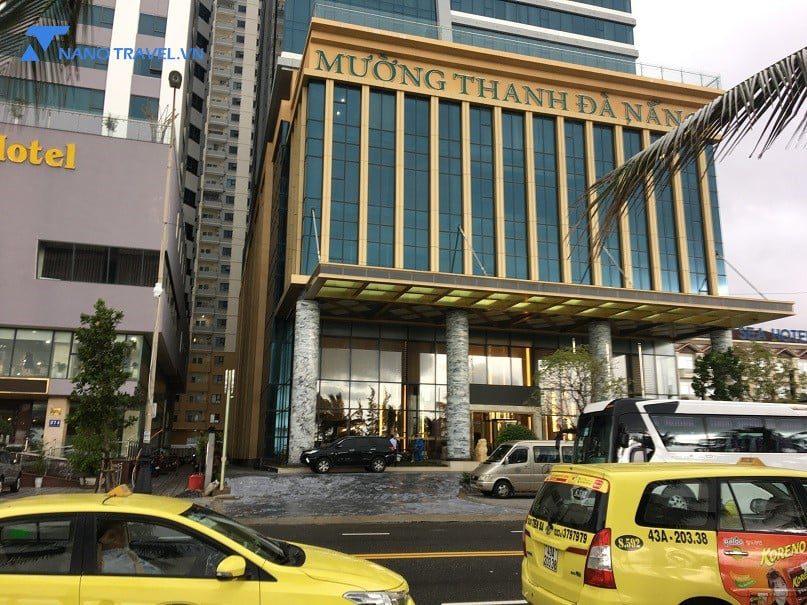 Mặt tiền Khách sạn Mường Thanh