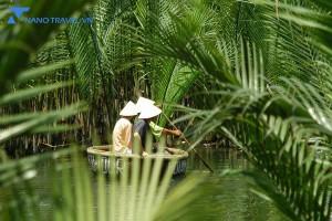 Khám phá Rừng dừa 7 mẫu – Trải nghiệm du lịch sông nước