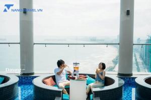 Horizon bar Đà Nẵng – quán cafe trên tầng 36 view biển tuyệt đẹp